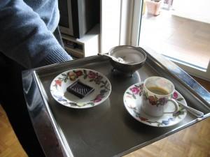 Una tazzina di caffè ...  Fotografia L.Gloyer